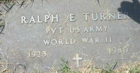 TURNER, RALPH E. - Montgomery County, Ohio   RALPH E. TURNER - Ohio Gravestone Photos