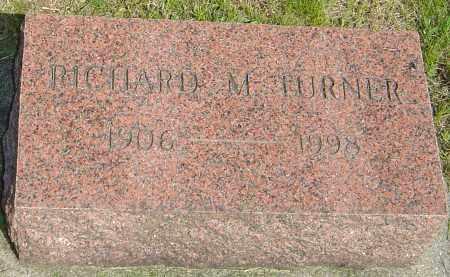 TURNER, RICHARD M - Montgomery County, Ohio | RICHARD M TURNER - Ohio Gravestone Photos