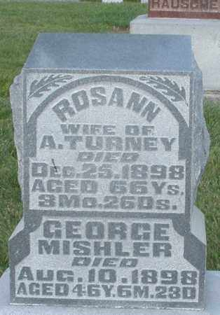 TURNEY, ROSANN - Montgomery County, Ohio | ROSANN TURNEY - Ohio Gravestone Photos