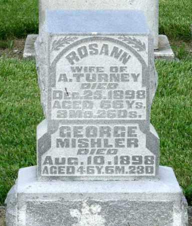 TURNEY, ROSANN - Montgomery County, Ohio   ROSANN TURNEY - Ohio Gravestone Photos