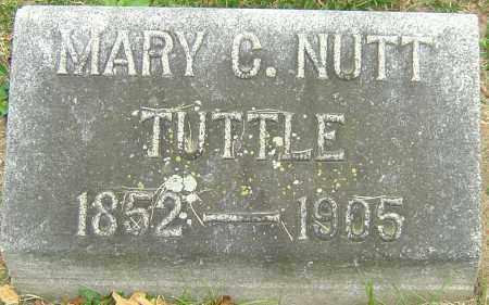 NUTT TUTTLE, MARY C - Montgomery County, Ohio | MARY C NUTT TUTTLE - Ohio Gravestone Photos