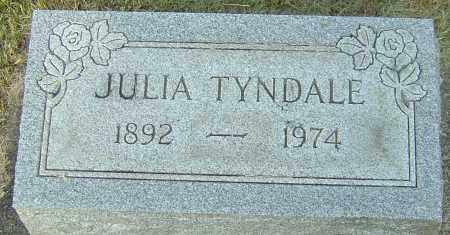 TYNDALE, JULIA - Montgomery County, Ohio   JULIA TYNDALE - Ohio Gravestone Photos