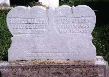 ULLERY, LUCY - Montgomery County, Ohio | LUCY ULLERY - Ohio Gravestone Photos
