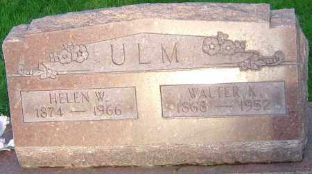 ULM, HELEN W - Montgomery County, Ohio   HELEN W ULM - Ohio Gravestone Photos
