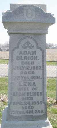 ULRICH, LENA - Montgomery County, Ohio | LENA ULRICH - Ohio Gravestone Photos
