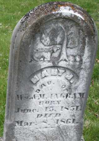 UNGRAM, MARY J. - Montgomery County, Ohio   MARY J. UNGRAM - Ohio Gravestone Photos