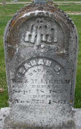 UNGRAM, SARAH C. - Montgomery County, Ohio | SARAH C. UNGRAM - Ohio Gravestone Photos
