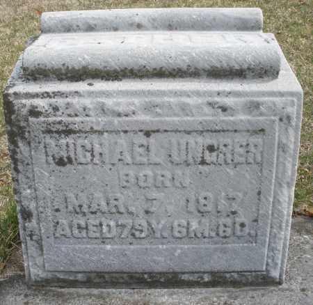 UNGRER, MICHAEL - Montgomery County, Ohio | MICHAEL UNGRER - Ohio Gravestone Photos