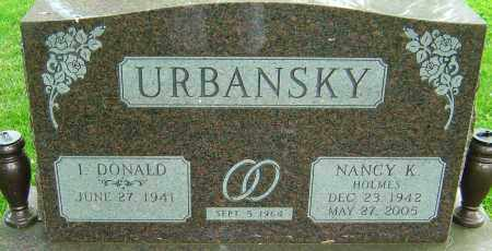 HOLMES URBANSKY, NANCY K - Montgomery County, Ohio   NANCY K HOLMES URBANSKY - Ohio Gravestone Photos