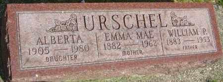 URSCHEL, EMMA MAE - Montgomery County, Ohio | EMMA MAE URSCHEL - Ohio Gravestone Photos