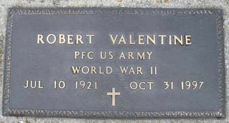 VALENTINE, ROBERT - Montgomery County, Ohio | ROBERT VALENTINE - Ohio Gravestone Photos