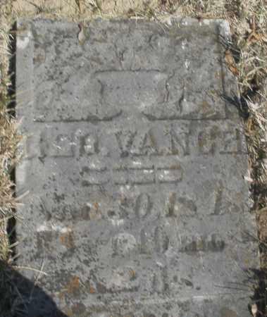 VANCE, H. ? - Montgomery County, Ohio | H. ? VANCE - Ohio Gravestone Photos