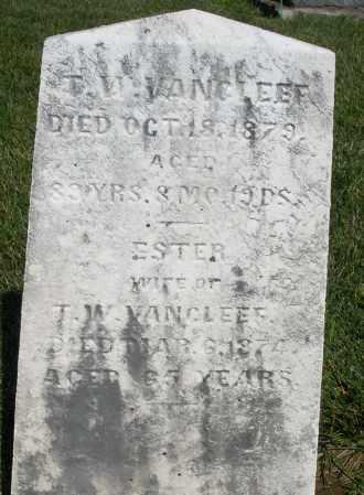 VANCLEEF, ESTER - Montgomery County, Ohio   ESTER VANCLEEF - Ohio Gravestone Photos