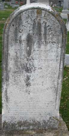 VANHOCK, CATHARINE - Montgomery County, Ohio | CATHARINE VANHOCK - Ohio Gravestone Photos