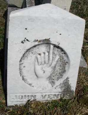 VENUS, JOHN - Montgomery County, Ohio | JOHN VENUS - Ohio Gravestone Photos