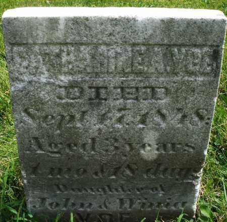 VOE, CATHARINE - Montgomery County, Ohio | CATHARINE VOE - Ohio Gravestone Photos
