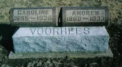 VOORHEES, CAROLINE - Montgomery County, Ohio | CAROLINE VOORHEES - Ohio Gravestone Photos