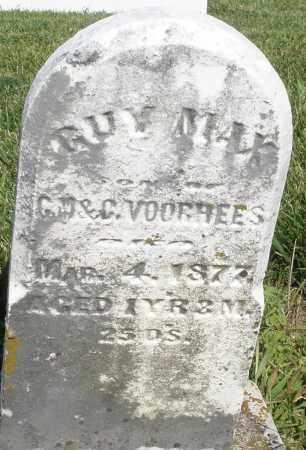 VOORHEES, GUY MAX - Montgomery County, Ohio | GUY MAX VOORHEES - Ohio Gravestone Photos