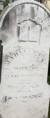 LANE VOORHEES, MARIA - Montgomery County, Ohio | MARIA LANE VOORHEES - Ohio Gravestone Photos