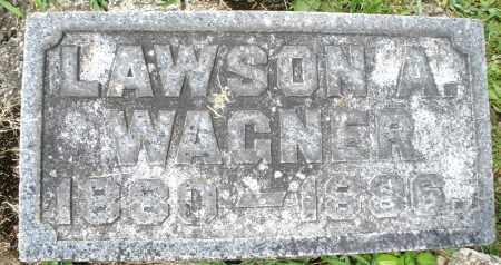 WAGNER, LAWSON A. - Montgomery County, Ohio   LAWSON A. WAGNER - Ohio Gravestone Photos