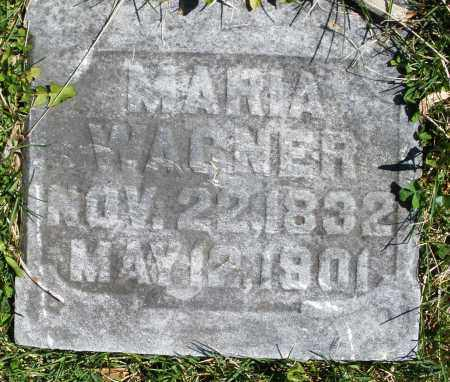 WAGNER, MARIA - Montgomery County, Ohio | MARIA WAGNER - Ohio Gravestone Photos