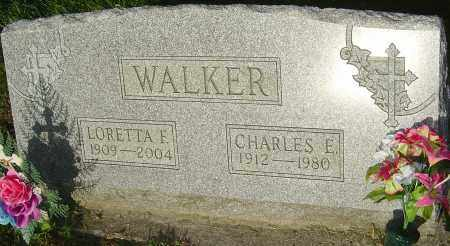 WALKER, CHARLES E - Montgomery County, Ohio | CHARLES E WALKER - Ohio Gravestone Photos