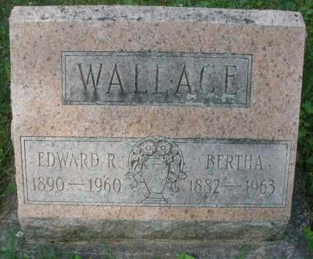WALLACE, EDWARD R. - Montgomery County, Ohio | EDWARD R. WALLACE - Ohio Gravestone Photos
