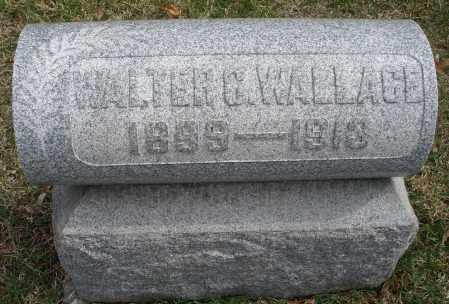 WALLACE, WALTER G. - Montgomery County, Ohio | WALTER G. WALLACE - Ohio Gravestone Photos