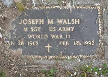 WALSH, JOSEPH M. - Montgomery County, Ohio | JOSEPH M. WALSH - Ohio Gravestone Photos