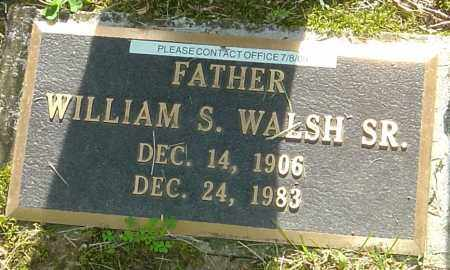 WALSH, WILLIAM S - Montgomery County, Ohio | WILLIAM S WALSH - Ohio Gravestone Photos