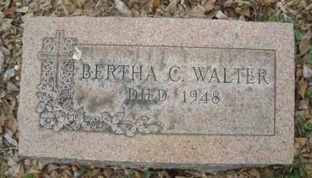 WALTER, BERTHA C. - Montgomery County, Ohio | BERTHA C. WALTER - Ohio Gravestone Photos