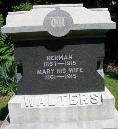 WALTERS, HERMAN - Montgomery County, Ohio | HERMAN WALTERS - Ohio Gravestone Photos