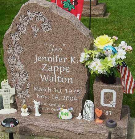WALTON, JENNIFER K - Montgomery County, Ohio   JENNIFER K WALTON - Ohio Gravestone Photos