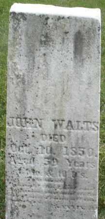 WALTS, JOHN - Montgomery County, Ohio | JOHN WALTS - Ohio Gravestone Photos