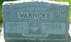 WARNCKE, MARVIN P - Montgomery County, Ohio | MARVIN P WARNCKE - Ohio Gravestone Photos