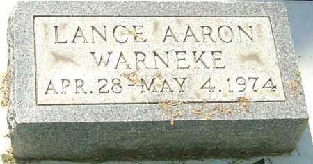 WARNEKE, LANCE - Montgomery County, Ohio | LANCE WARNEKE - Ohio Gravestone Photos