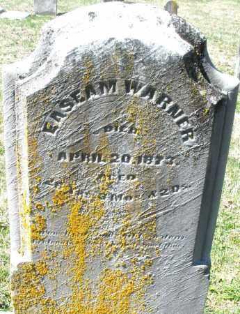 WARNER, ENSEAM - Montgomery County, Ohio   ENSEAM WARNER - Ohio Gravestone Photos