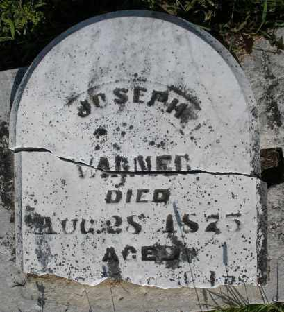 WARNER, JOSEPH - Montgomery County, Ohio | JOSEPH WARNER - Ohio Gravestone Photos