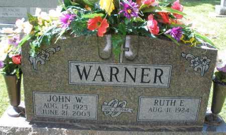 WARNER, RUTH E. - Montgomery County, Ohio   RUTH E. WARNER - Ohio Gravestone Photos
