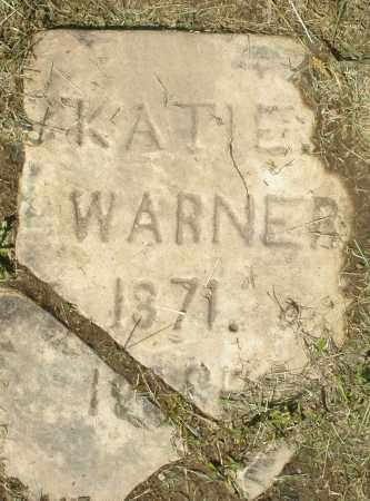 WARNER, KATIE I. - Montgomery County, Ohio | KATIE I. WARNER - Ohio Gravestone Photos