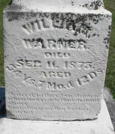 WARNER, WILLIAM - Montgomery County, Ohio | WILLIAM WARNER - Ohio Gravestone Photos