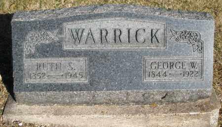WARRICK, RUTH S. - Montgomery County, Ohio | RUTH S. WARRICK - Ohio Gravestone Photos