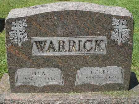 WARRICK, HENRY - Montgomery County, Ohio | HENRY WARRICK - Ohio Gravestone Photos