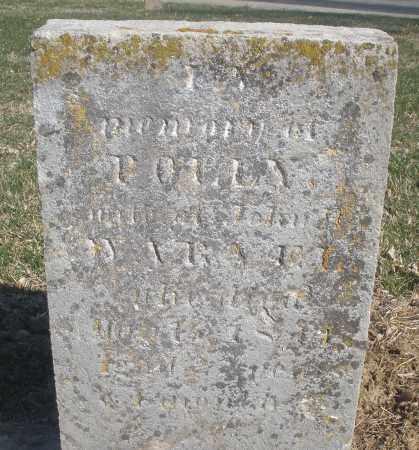 WARVEL, POLLY - Montgomery County, Ohio | POLLY WARVEL - Ohio Gravestone Photos