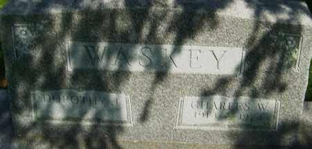 WASKEY, CHARLES - Montgomery County, Ohio | CHARLES WASKEY - Ohio Gravestone Photos