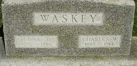 JOSLIN WASKEY, EDNA - Montgomery County, Ohio | EDNA JOSLIN WASKEY - Ohio Gravestone Photos