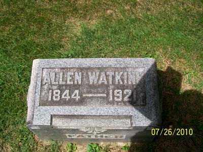 WATKINS, ALLEN - Montgomery County, Ohio | ALLEN WATKINS - Ohio Gravestone Photos
