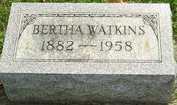 WATKINS, BERTHA - Montgomery County, Ohio | BERTHA WATKINS - Ohio Gravestone Photos