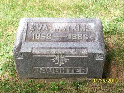 WATKINS, EVA - Montgomery County, Ohio   EVA WATKINS - Ohio Gravestone Photos