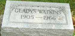 RICKARD WATKINS, GLADYS ELIZABETH - Montgomery County, Ohio | GLADYS ELIZABETH RICKARD WATKINS - Ohio Gravestone Photos